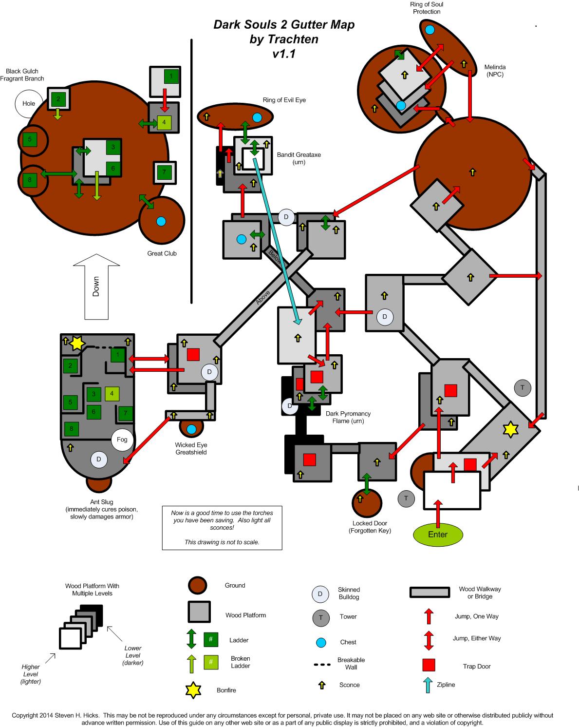 Dark Souls 2 World Map : souls, world, Souls, German