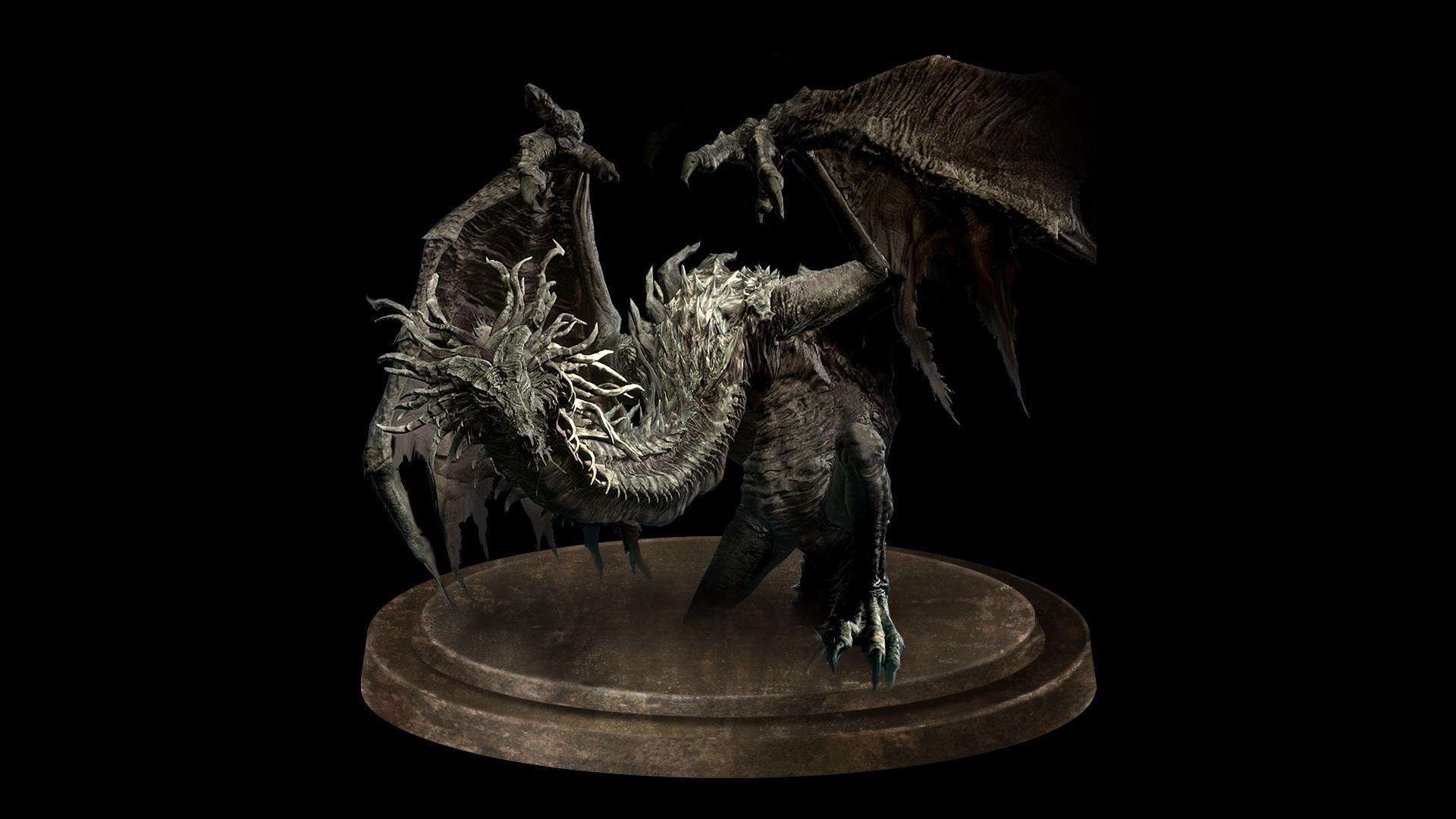 ancient wyvern dark souls