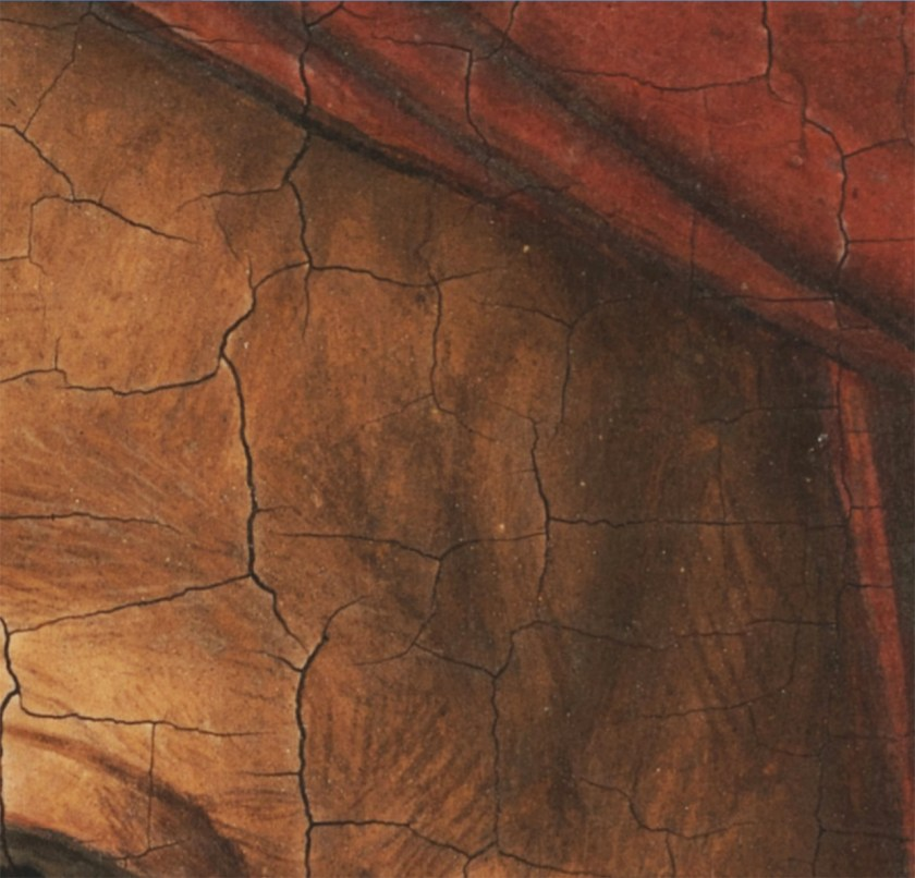 Jan van Eyck_Portrait of a Man (Selfportrait?) (detail), 1433, National Gallery London