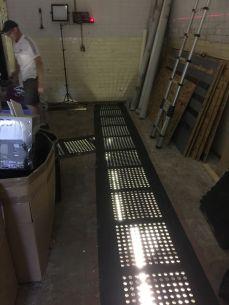 Floor and lights