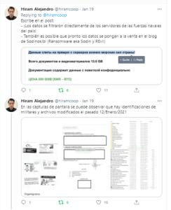 Cibercriminal pone en venta 13.6 GB de información de la milicia de #Uruguay  por 500 000 $ (XMR – BTC)