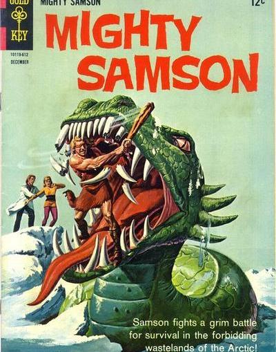 The Strangest Northerns: The Mighty Samson - Dark Worlds Quarterly