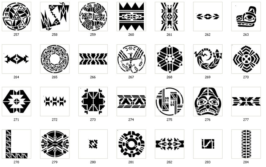 Their Meanings Tribal Tattoos Designs And Their Meanings Cool