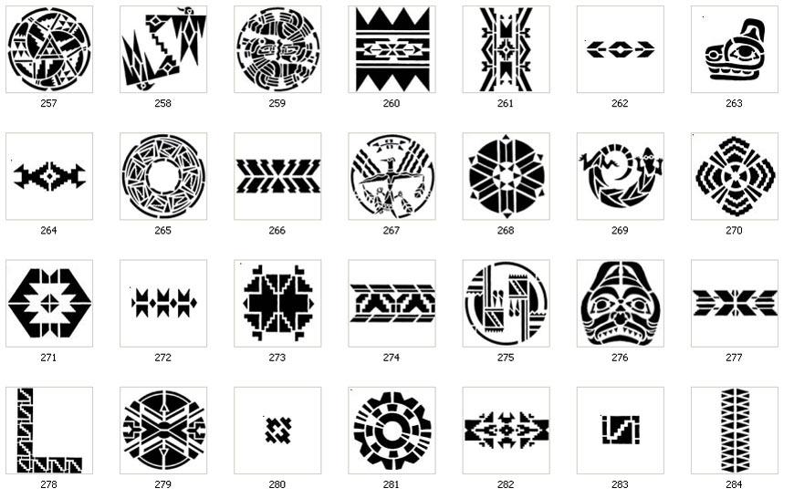 Native American Tribal Symbols