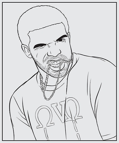 There's a Drake Coloring Book, Because Of Course There Is