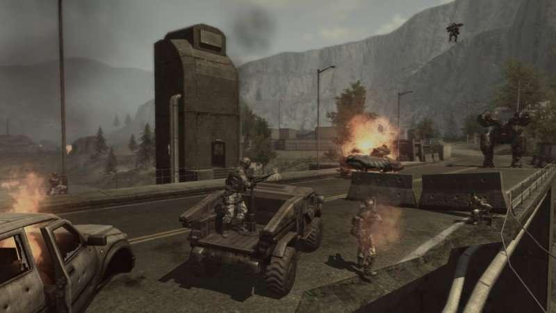 Enemy Territory: Quake Wars Xbox 360 review - DarkZero