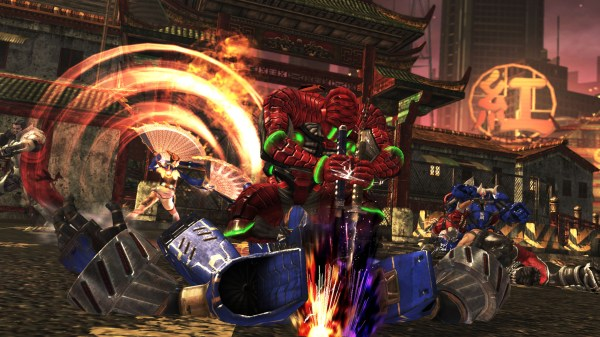 Anarchy Reigns screen 1