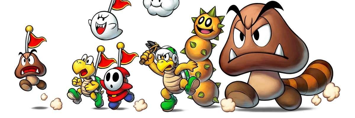 Mario Luigi Superstar Saga Bowser S Minions 3ds Review Darkzero