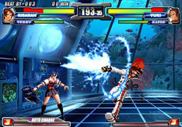 Neo Geo Battle Coliseum PS2 review - DarkZero