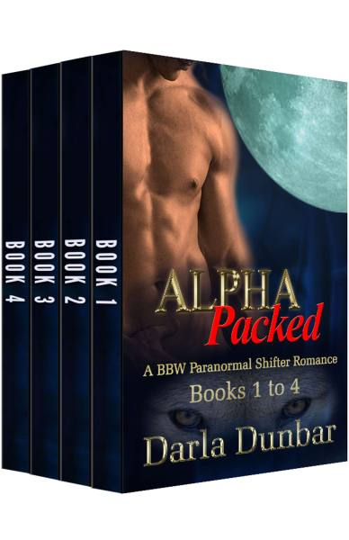 Alpha Packed BBW Paranormal Shifter Romance Series – Books 1 to 4