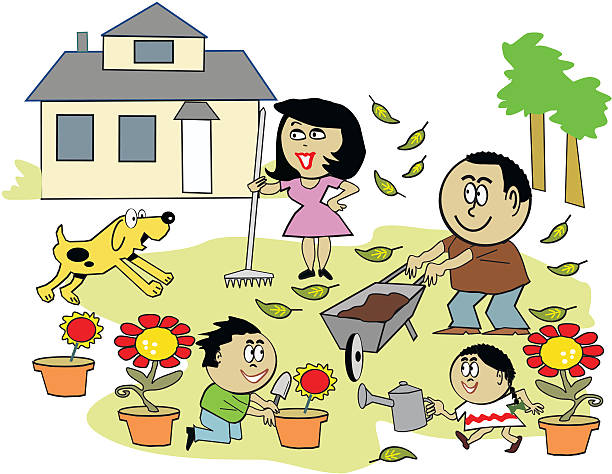family-working-together-clipart