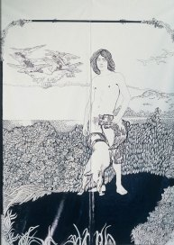 Detalj-earthboy-tegning-paa-oljelerret2002