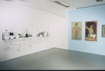 Inventing-Wonderland-Galleri-21-24-Oslo-2003-veggmaleri