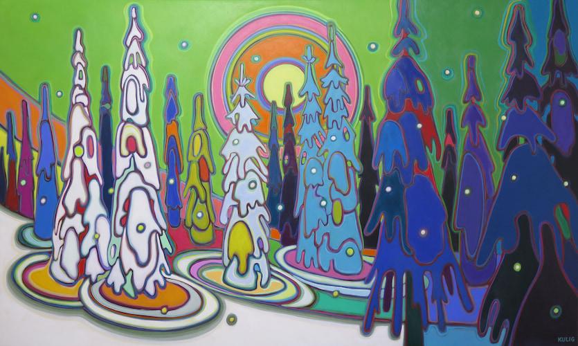 Completed commissions - Guardian-Angels-36-x-60- Darlene Kulig