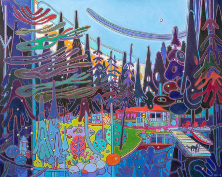 Autumn Colours - The Cottage Greeter - Darlene Kulig