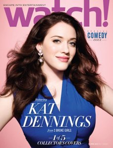 KAT DENNINGS in CBS Watch Magazine