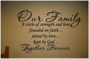 decal our family
