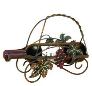 home metal wine holder