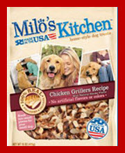 Description. Milo's Kitchen knows the best treats come right from the kitchen, and their Beef Sausage Slices with Rice Dog Treats are proof. These great-tasting sausage slices are made with real beef as the #1 ingredient for more flavor in every bite/5(92).