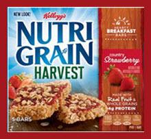 Nutrigrain Breakfast Bars