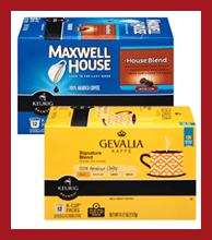Gevalia and Maxwell House