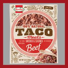 Hormel Taco Basics