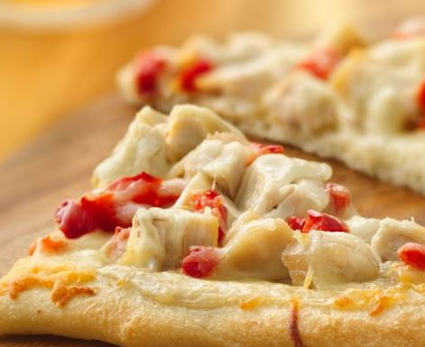 chicken alfredo pizza recipe darlene michaud