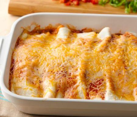 5 ingredient beef enchilada casserole recipe tablespoon darlene michaud