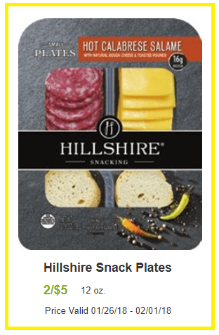hillshire snack plates coupon deal darlene michaud