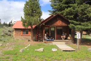 Western Guest Ranch Cabin Panzera family