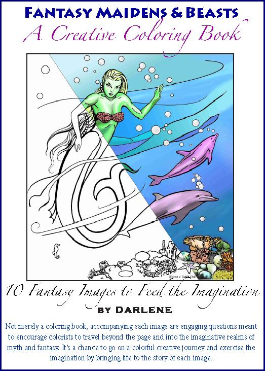 Fantasy Art Darlene The Artist