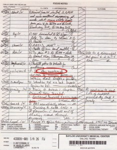 Notes made by nurses including wielgosz also the darlie routier case rh darliefacts