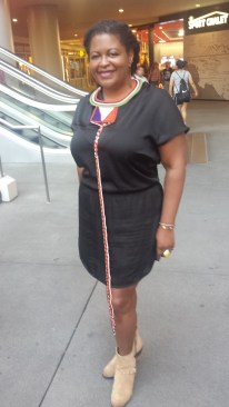 The lovely Ms. Patrice.