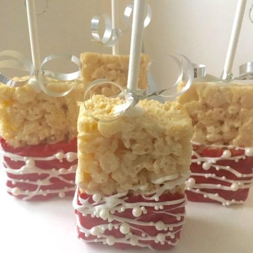 Gourmet dipped rice krispy pops (standard design)