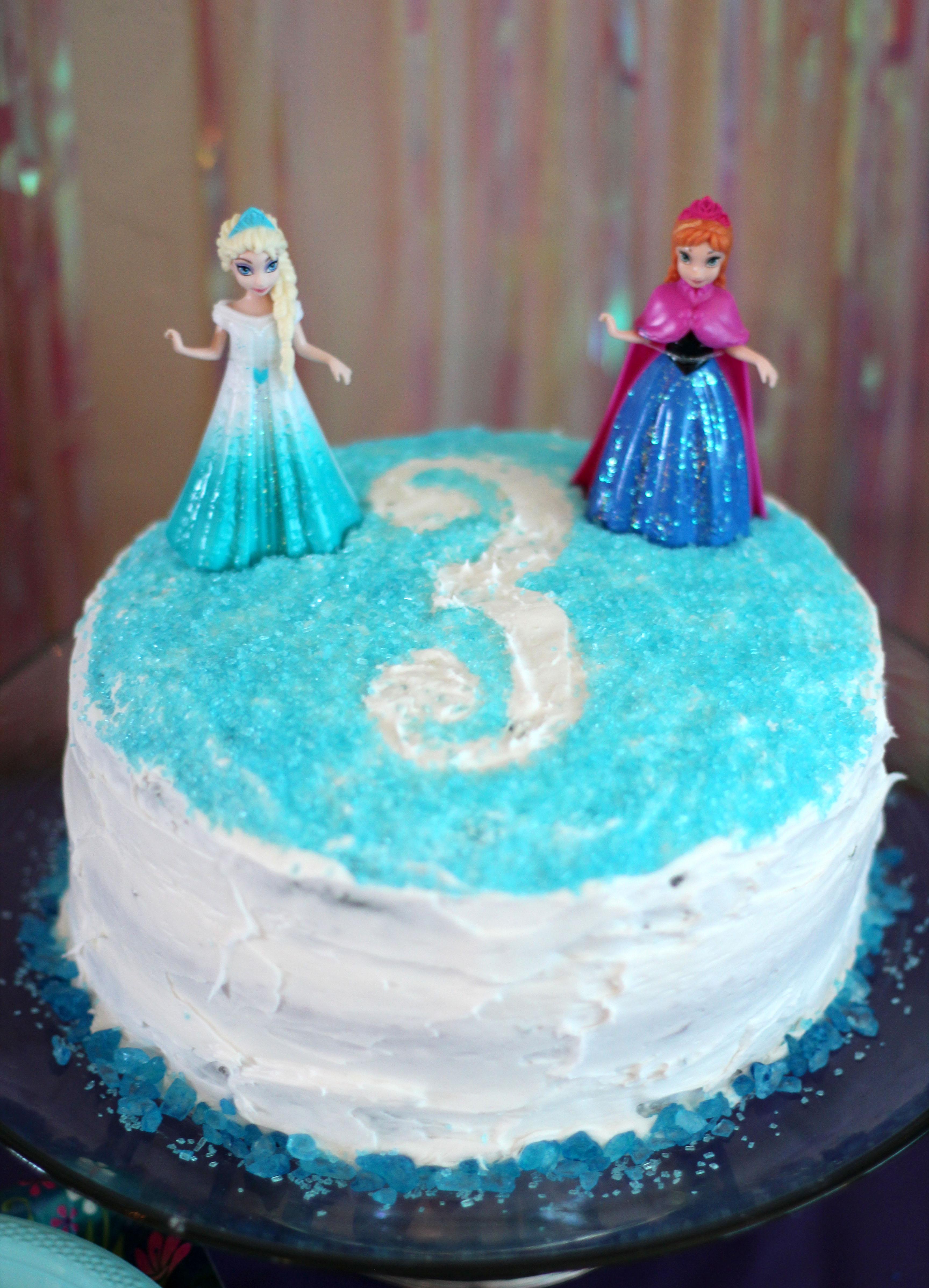 Haddisons Frozen Inspired 3rd Birthday