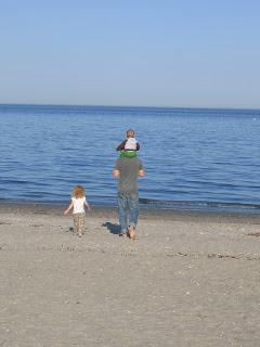 Sunday Walk on the Beach