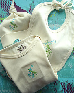 Embroidered Baby Gift Set
