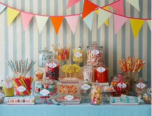 Old Fashion Candy Buffets