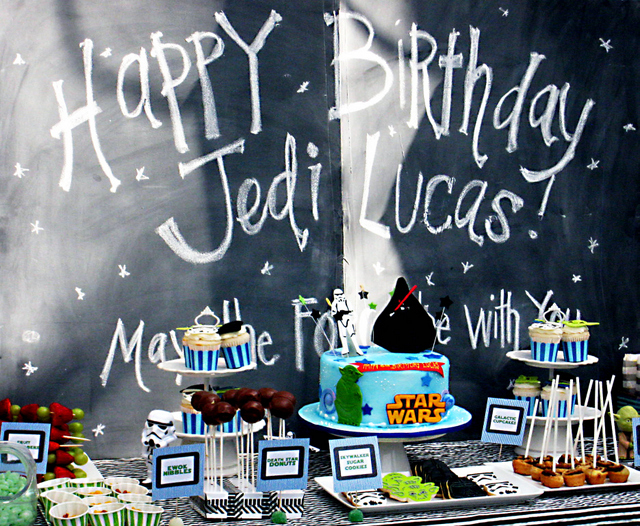 Star Wars Birthday Party