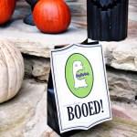 Halloween Boo Tags