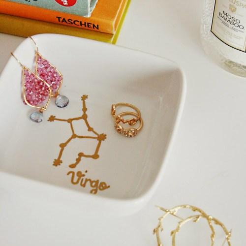 DIY: Constellation Horoscope Jewelry Dish