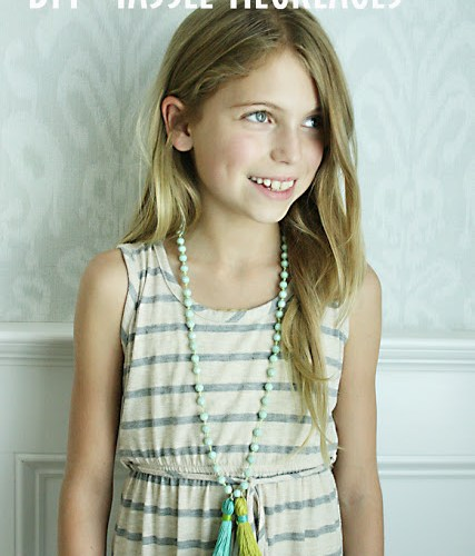 Back-to-School Crafts: DIY Tassel Necklaces