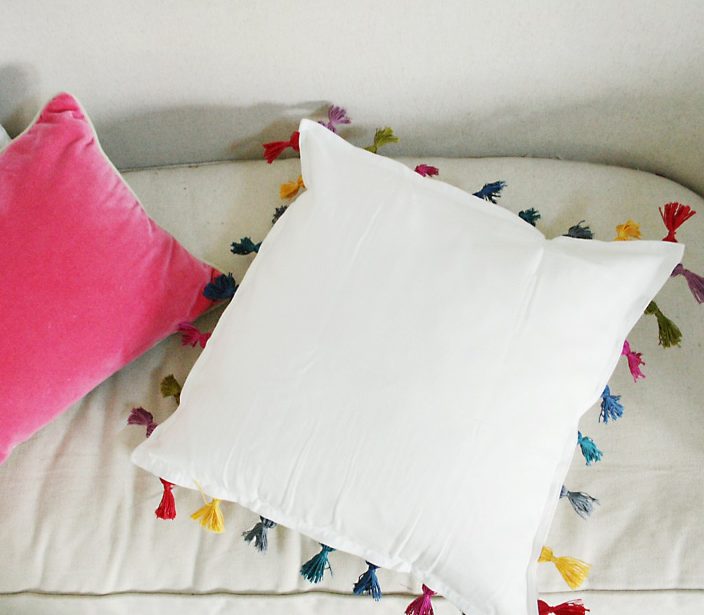 DIY Tassel Pillow