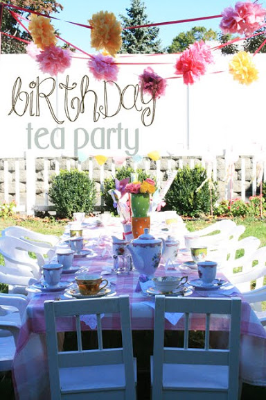 birthday teaparty
