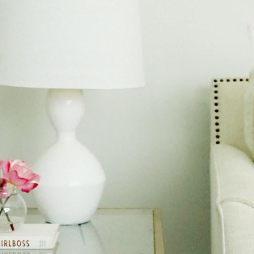 DIY: Lacquer Lamp and Shade
