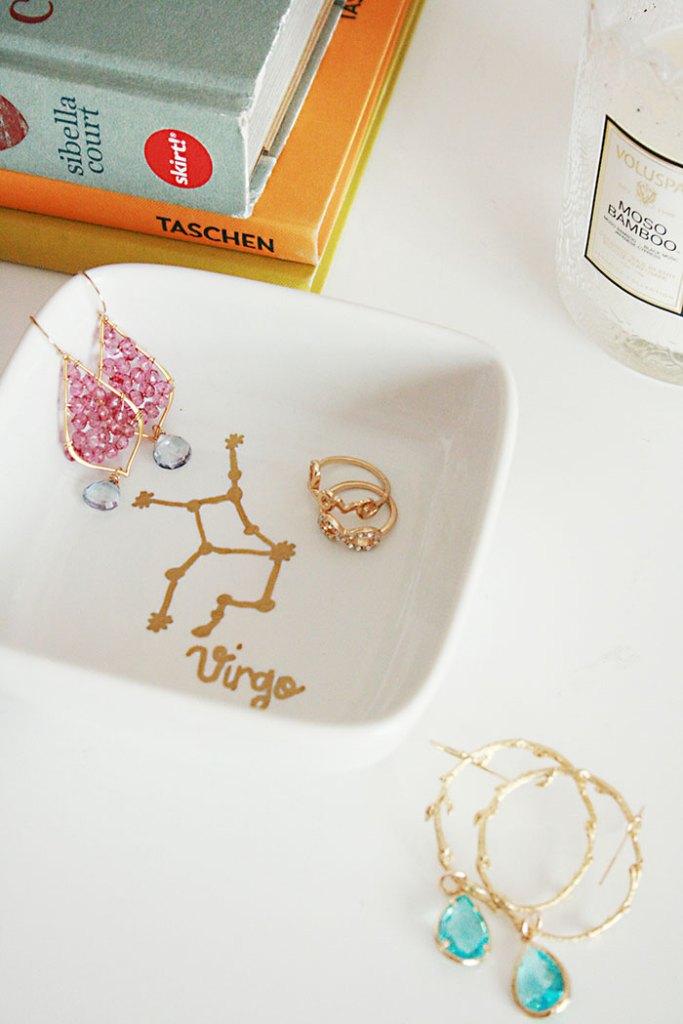 Diy Gold Foil Stencil Tutorial Darling Darleen A