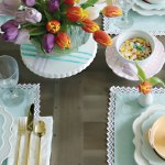 Spring Easter Table Decorations