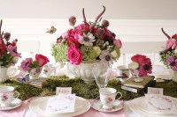 Indoor Garden Tea Party for a Shower - Darling Darleen | A ...