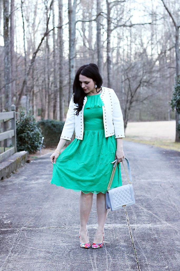 shabby-apple-green-dress-white-jacket