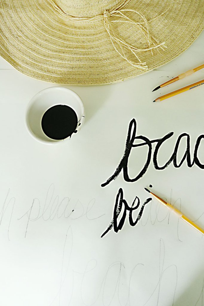 diy-word-script-beach-hat-painting